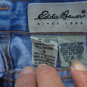 Vintage Eddie Bauer high waisted mom jeans